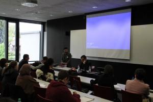 Le rôle de la femme dans la société islamique Claudio Monge (Dominican Study – Institute Istanbul) A gauche Andrea Rota (Université de Berne), modérateur